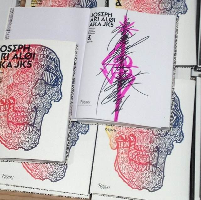 Joseph Ari Aloi AKA JK5 Published by Rizzoli