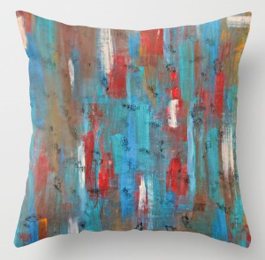 Talisman art pillow by Fine Art America Simply click the photo above for more information on sizes and other pattern options.