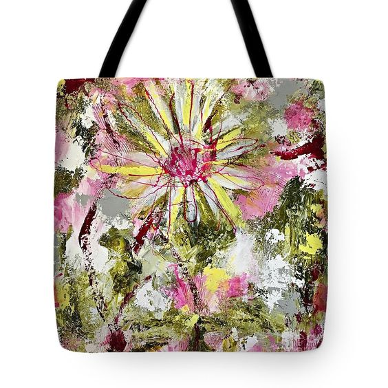 Daisies on Parade no. 1 tote bag