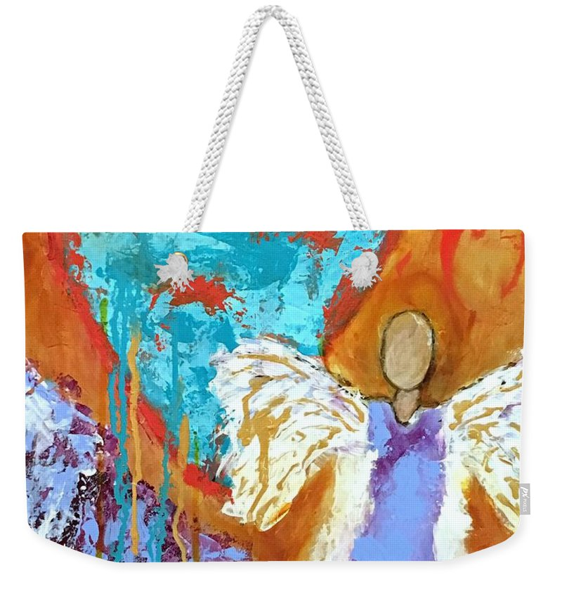 Fabulously fun Weekender Tote Bag from Fine Art Americe