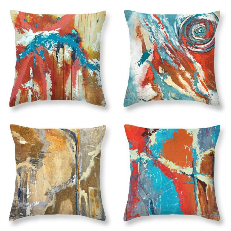 Art Pillow by Fine Art America.  Many designs available.