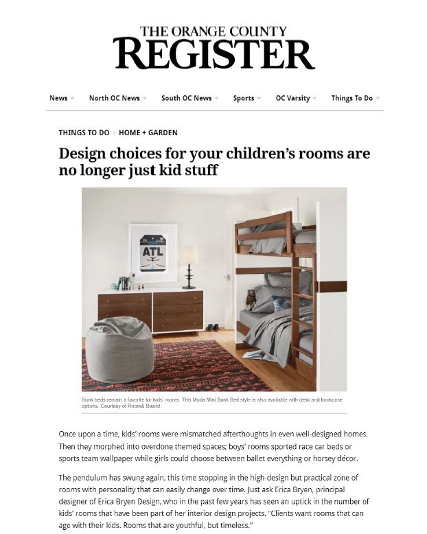 Orange County Register - Home & Garden, November 2018