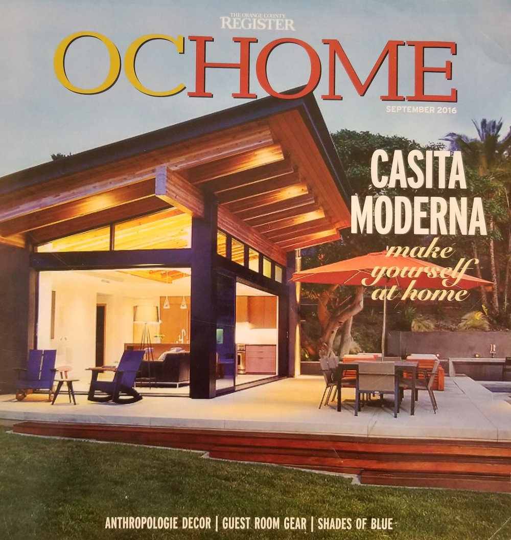 Orange County Register - OC Home, September 2016 - Cover