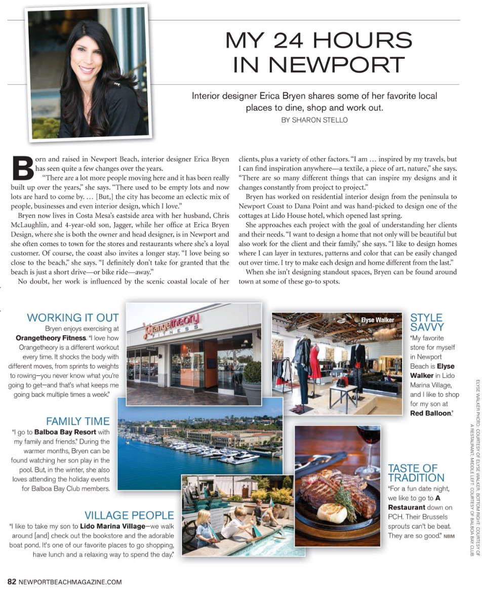 Newport Beach Magazine - March 2019