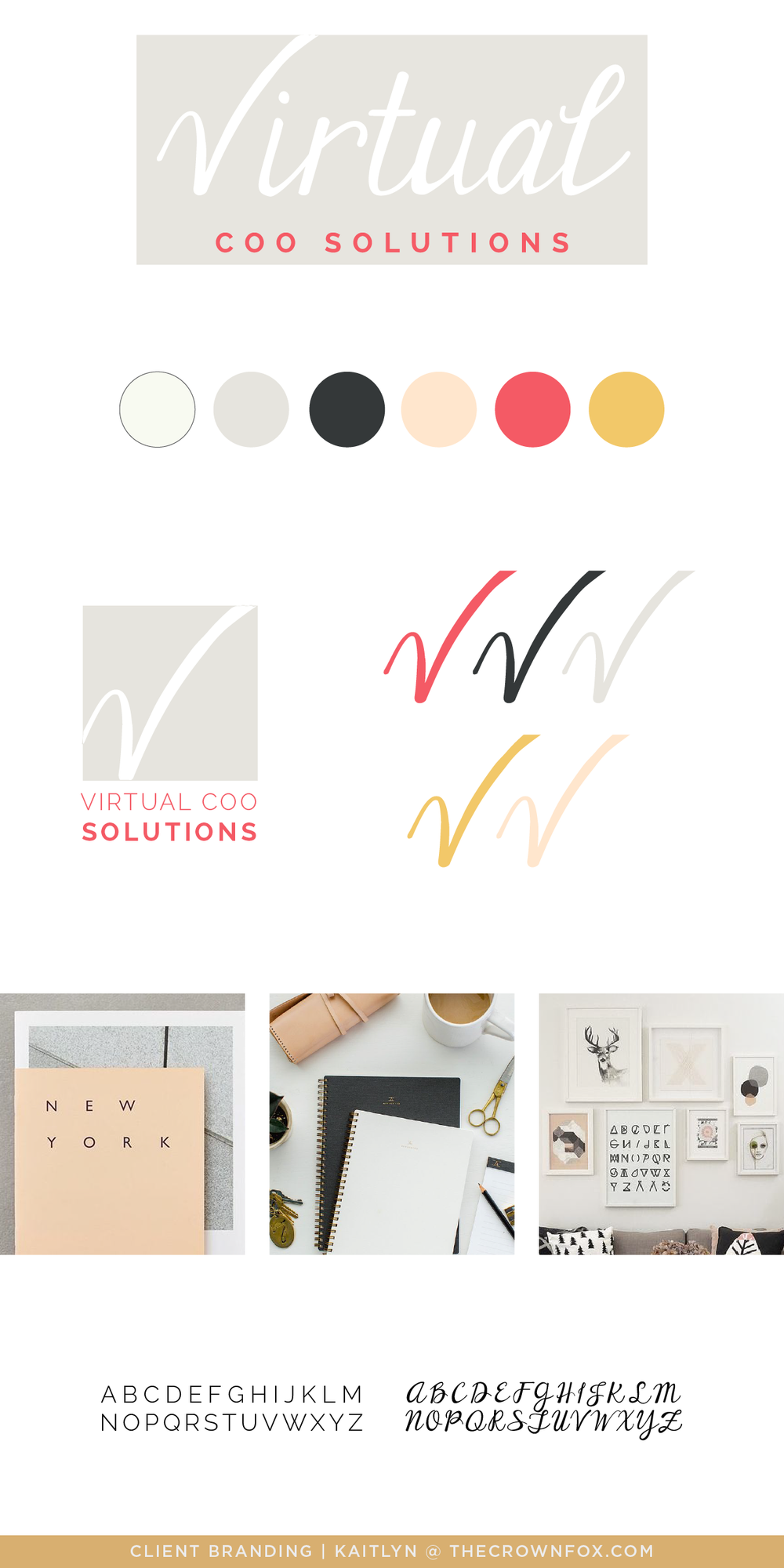 Client Branding Project - brand identity design, graphic design, brand board, logo design, color palette, typography, pattern design, mood board, inspiration board for online small businesses. Click through to learn more! TheCrownFox | www.TheCrownFox.com | Branding + Design
