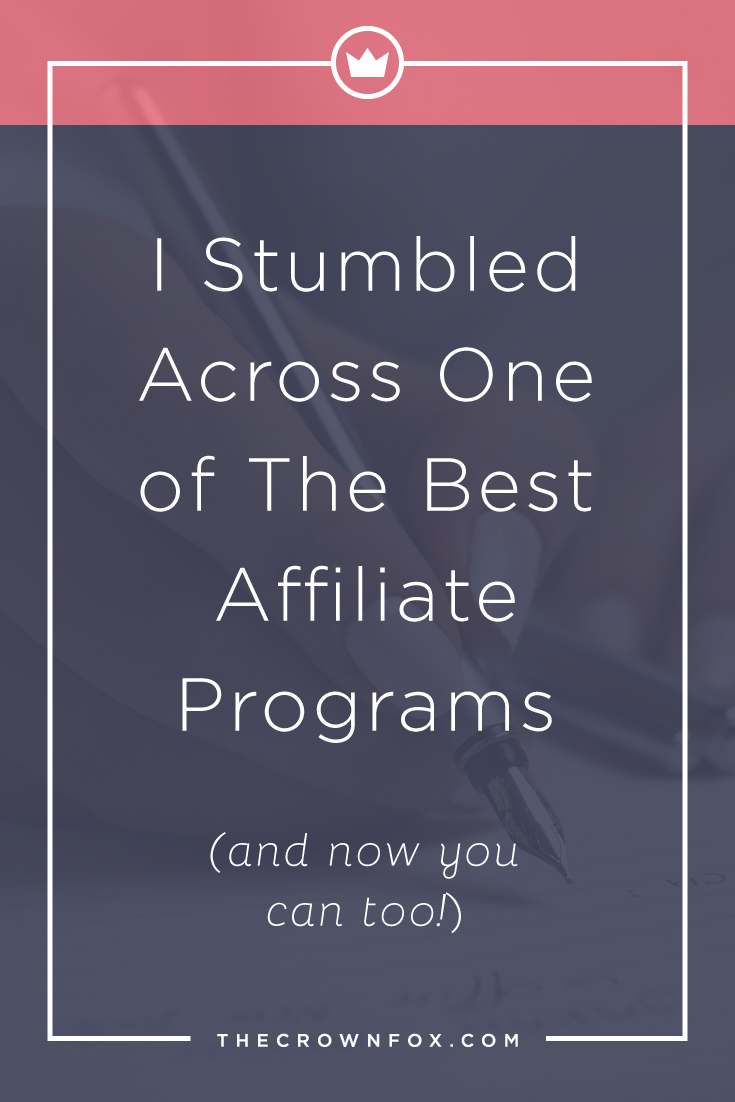 Earning Money through your blog with affiliate marketing doesn't have to be difficult. As a service based business this isn't my primary focus, but an opportunity to work with Ultimate Bundles seems to good to pass up. Click here to learn more! | www.TheCrownFox.com | Graphic Design Assistant for Creative Entrepreneurs