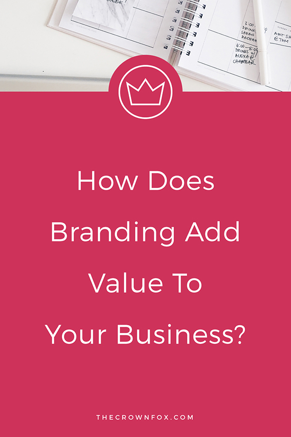 Branding your online business is incredibly valuable. The investment is worth the overall positive effects and growth potential good branding can bring you.  Click through to learn more!  |  TheCrownFox.com | Graphic Designer for Creatives #branding #onlinebusiness