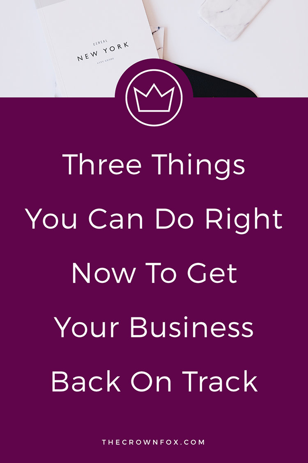Online Business Overwhelm? Get Your Business Back on Track (Stop Feeling stuck) | TheCrownFox | Small Online Business Solopreneur #businesstips #solopreneur