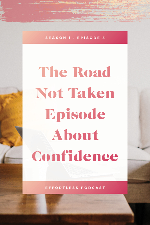 Create an easy online business - episode 5 talks about finally feeling confident and standing out with your own unique services. Click through to read the shownotes and listen - don't forget to subscribe and rate on iTunes! | EffortLess Podcast | TheCrownFox | #podcast #businesspodcast #mindsetpodcast