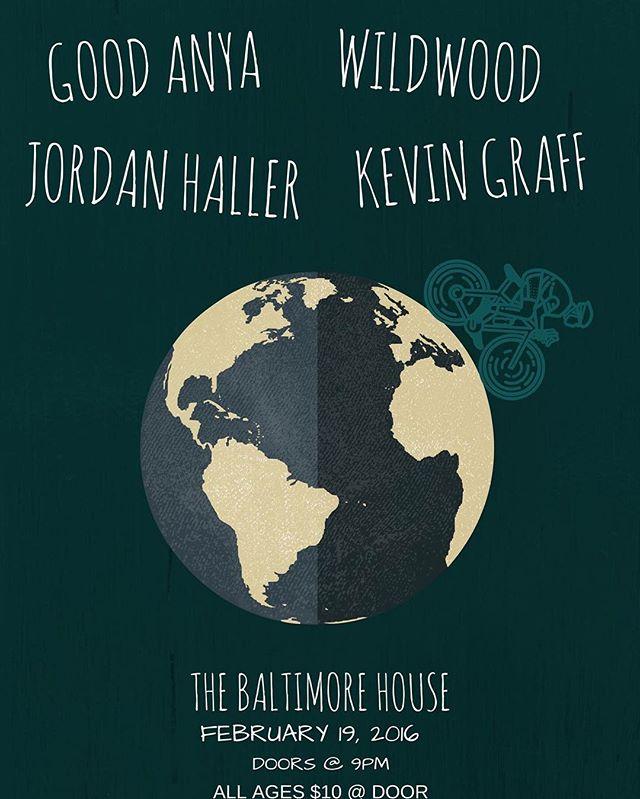 Playing tonight at @thebaltimorehouse with @jordanhallermusic