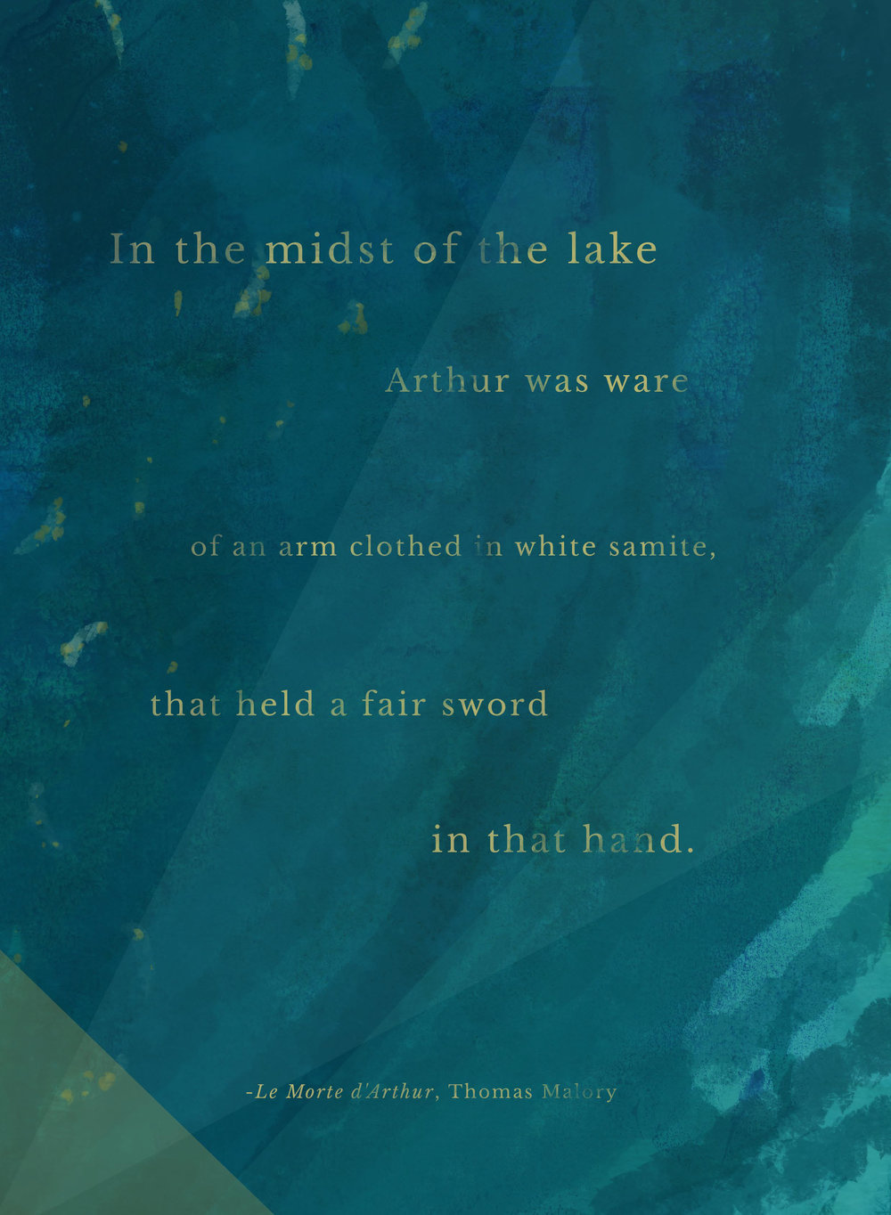In the Midst of the Lake Printable
