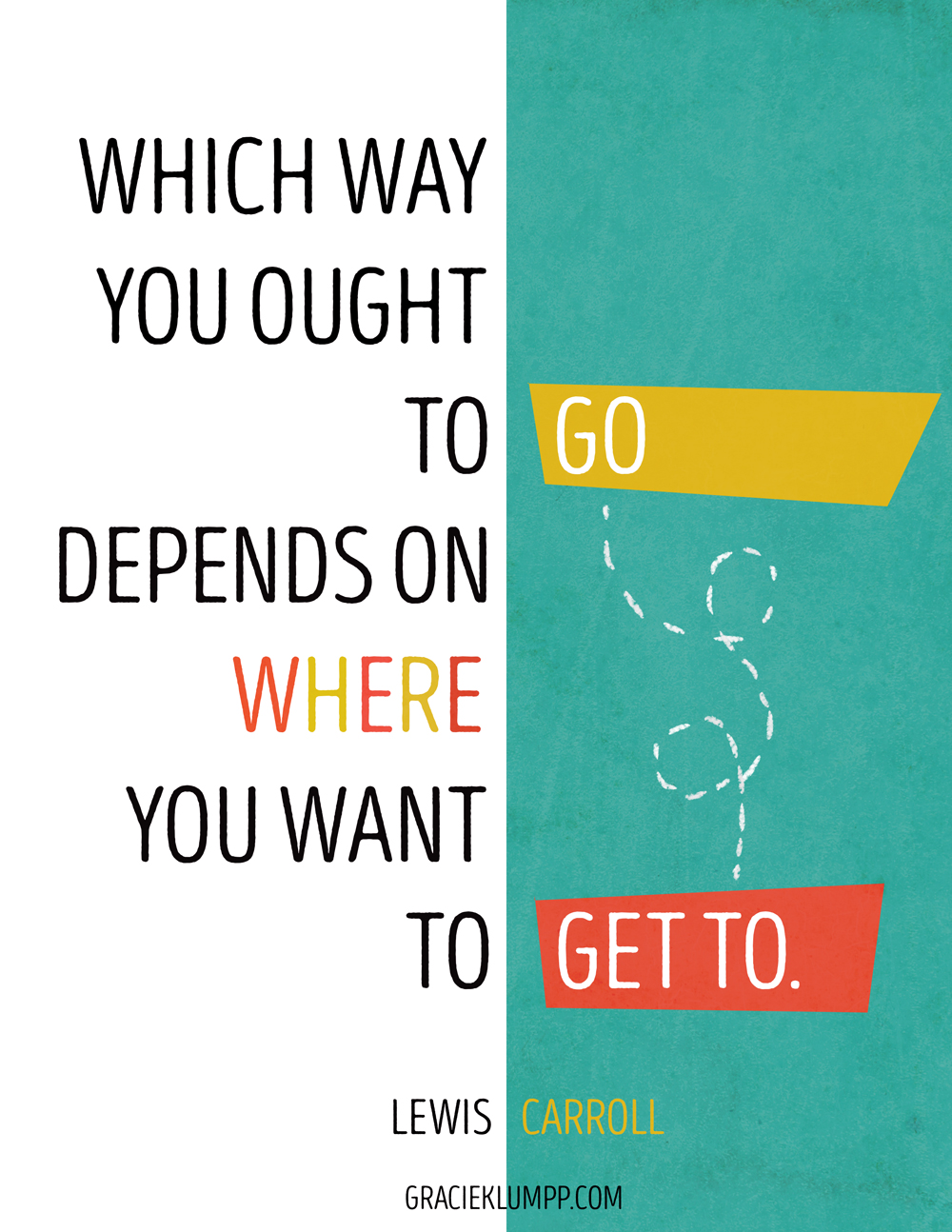 Which Way You Ought To Go Quote