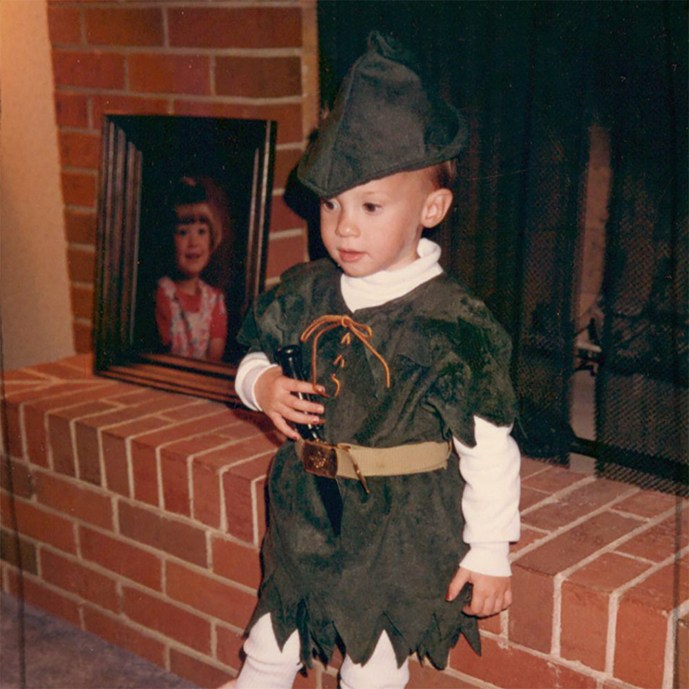 Remember that time when I was a tiny, practically bald little girl who thought she was Peter Pan and believed it with all her heart? Me, too. I'm pretty sure this is what I look like still on the inside.