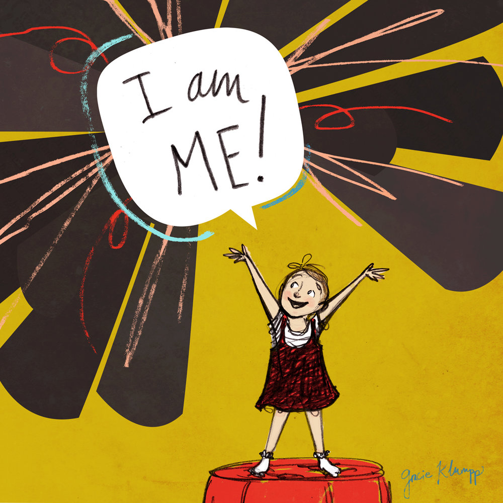 """I am Me!"" illustration"