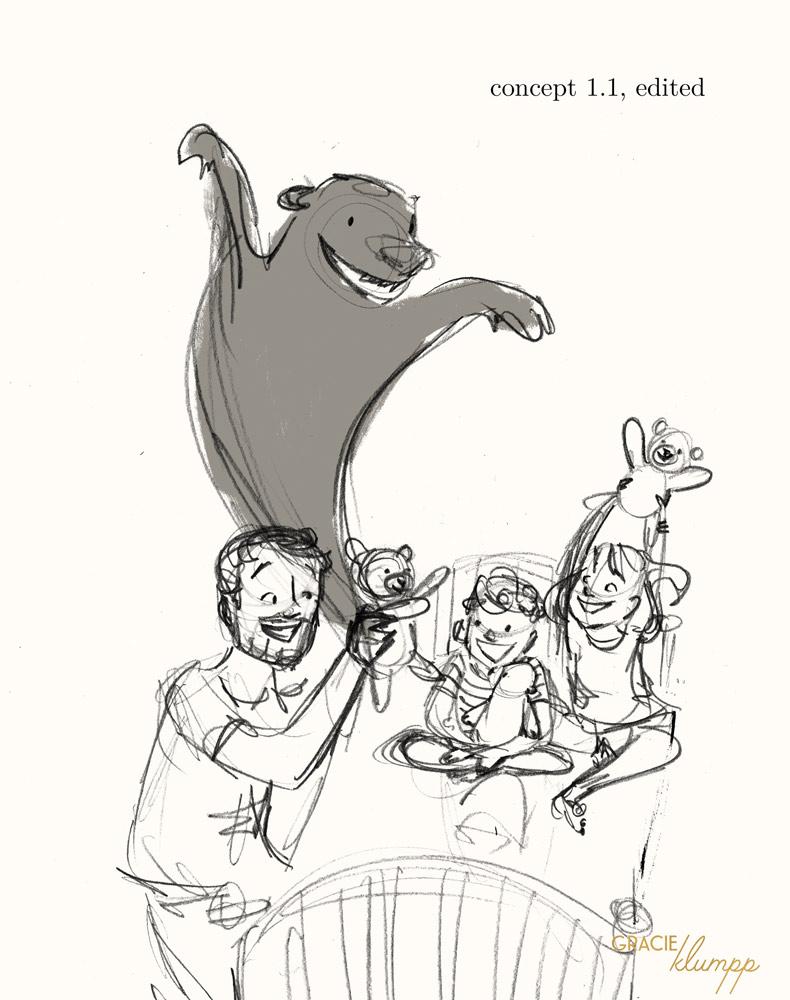 Parmenter Family Custom Portrait Concept