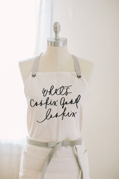 What's Cookin' Good Lookin' Apron — Parris Chic Boutique