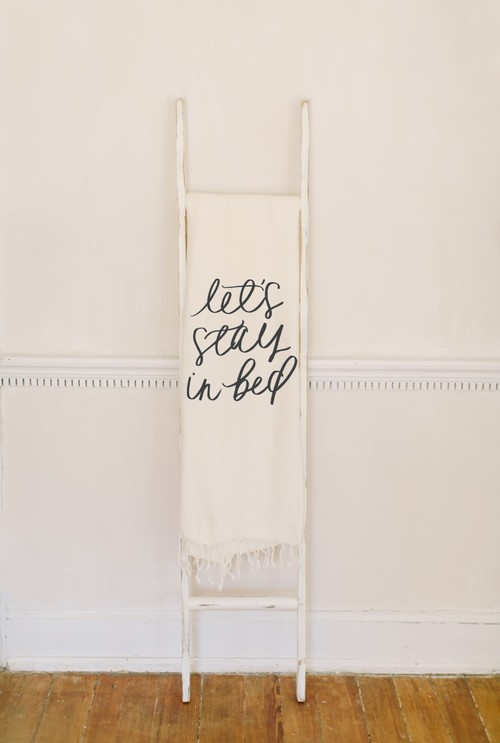 Let's Stay In Bed Blanket — Parris Chic Boutique