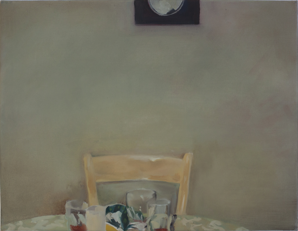 At the Table 2015 oil on canvas 35x45 cm