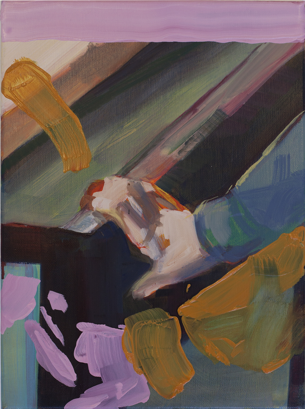 Indication (2015) Oil on Canvas. 40 x 30cm