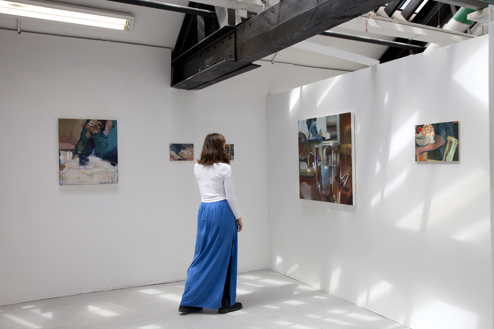 Installation view - 'Appearance of Familiarity' Degree Show 2015, NCAD