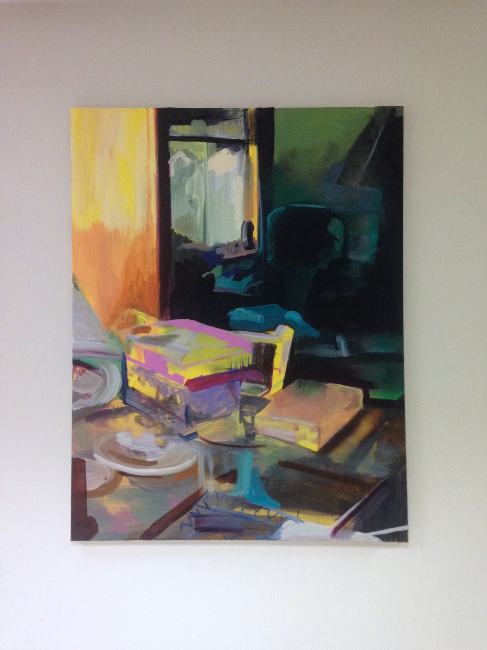 Implicit (2016) Oil on Canvas. 70x90cm.