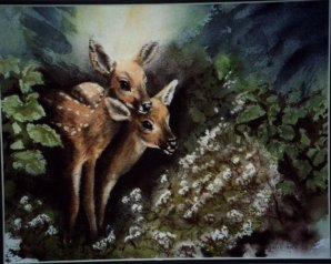 Fawns by Jonetta Williams
