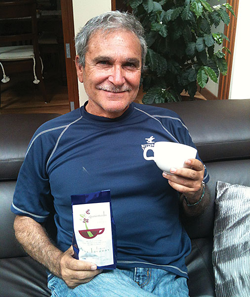 Yehudo Lido, Co-Founder of Apasionado Coffee | pic sourced from http://www.kansasalumnimagazine.com