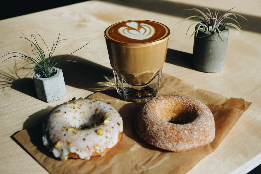 Doughnuts from Long Beach's The Caffeinated Kitchen