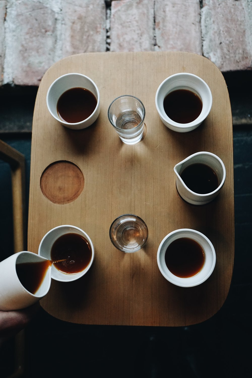 Aeropress Flight at Tim Wendelboe's copyright: @TheCoffeeNomad