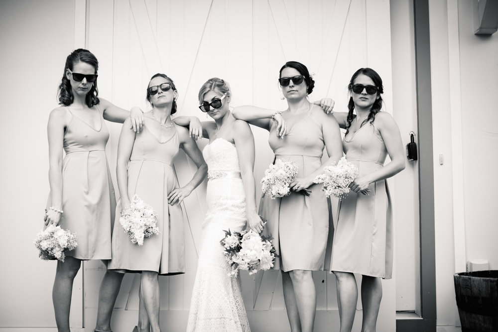 Not your average bridesmaids