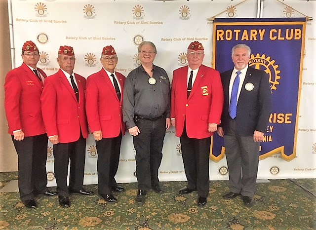 Members of the Board of Trustees Address Sunrise Rotary Club of Simi Valley