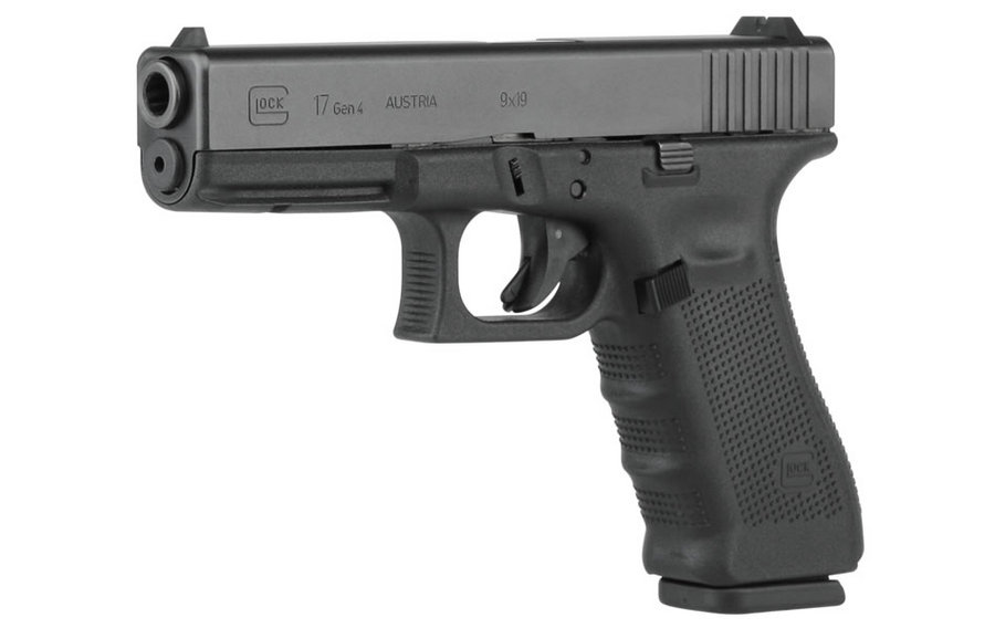 Second Prize - Glock 179 mm 4.49 inch barrel, black finish.Comes with three 10 Round Magazines, cleaning rod, and carrying case.