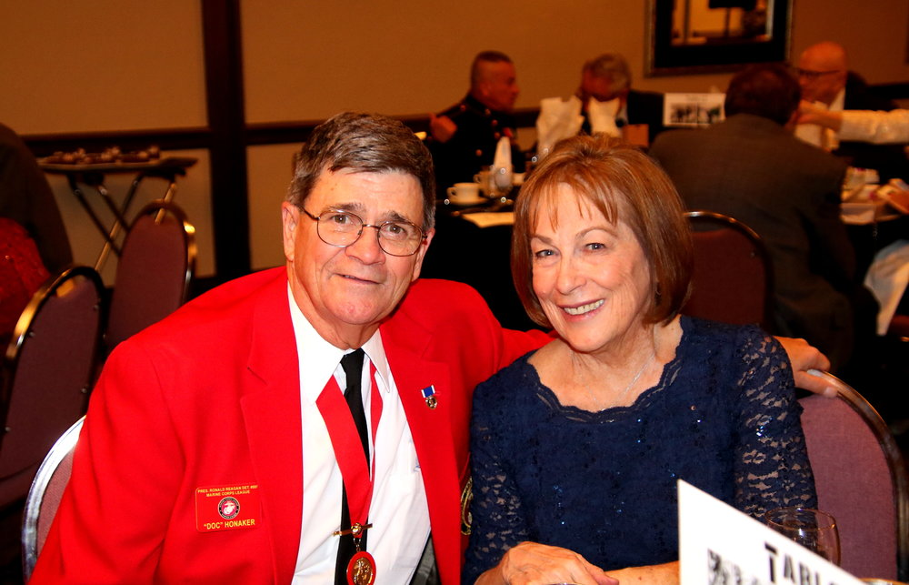 Ball Chairman Ken Honaker with Wife Sue