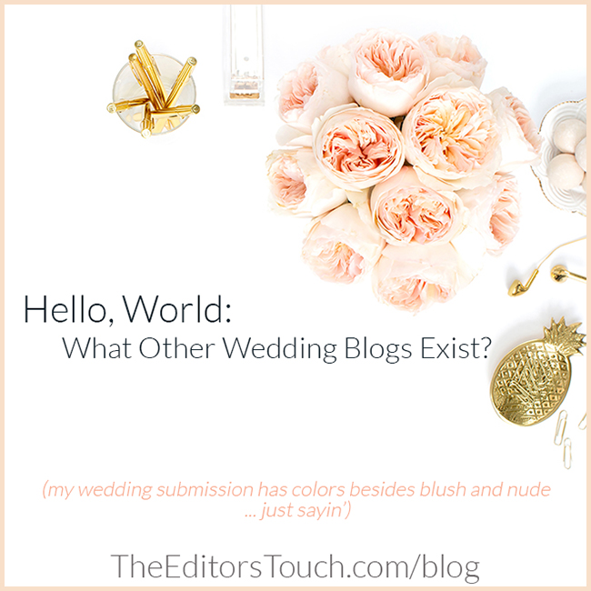 Submitting Weddings for Publication | The Editor's Touch