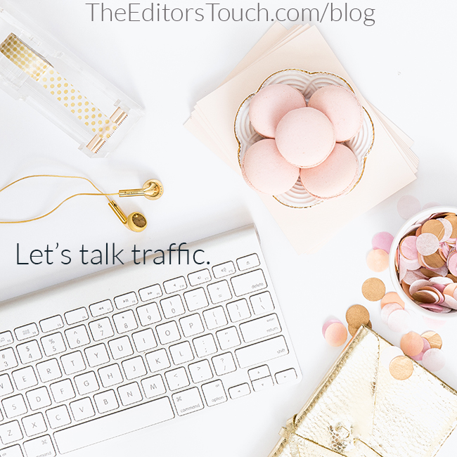 Website Traffic That Matters | The Editor's Touch