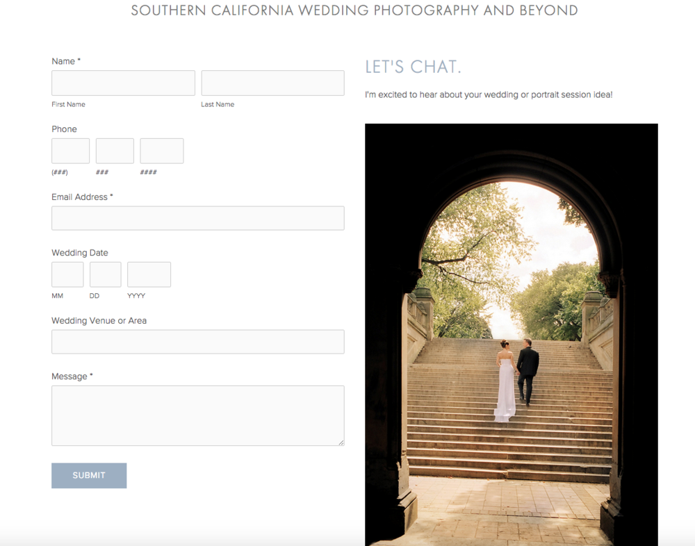 Los Angeles Wedding Photography by Arthouse Photographs | Website Design by Heather Sharpe of The Editor's Touch