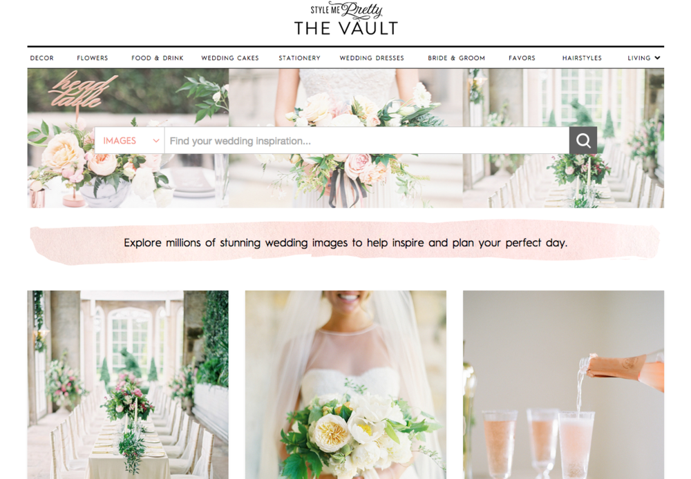 The Vault | Style Me Pretty | Wedding Blog Pretties