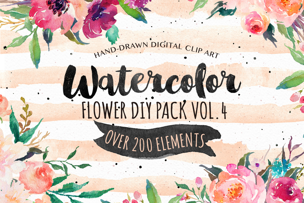Watercolor Graphics to Download | Website Designer | Blogging Graphics | The Editor's Touch
