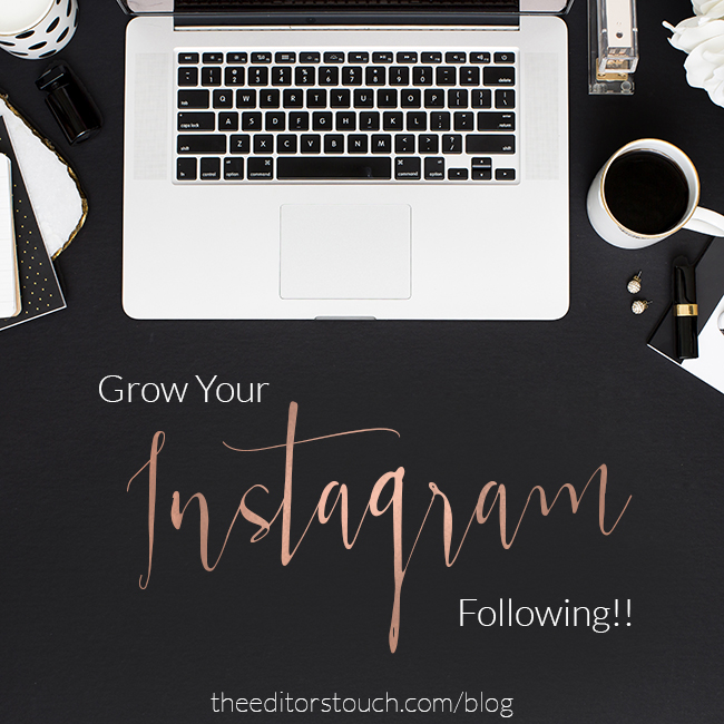 Chain Instagram Giveaway | The Editor's Touch