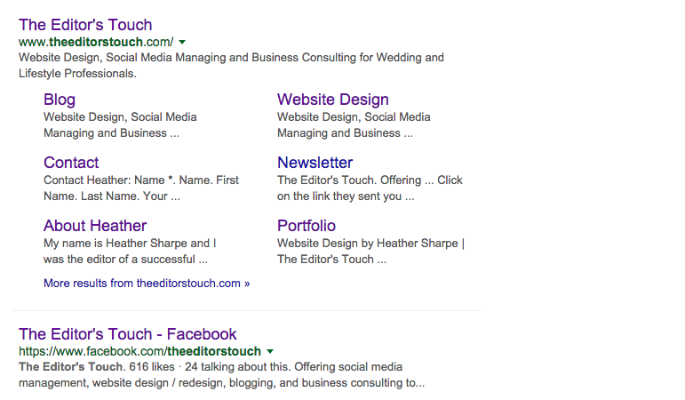 Google Your Company Name To See Where You Show Up | The Editor's Touch