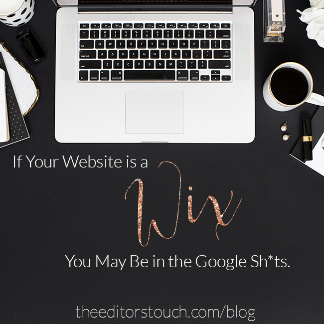 Google Temporarily De-Indexes Wix Websites | The Editor's Touch