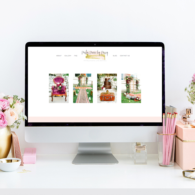 Squarespace Website Design by Heather Sharpe | The Editor's Touch