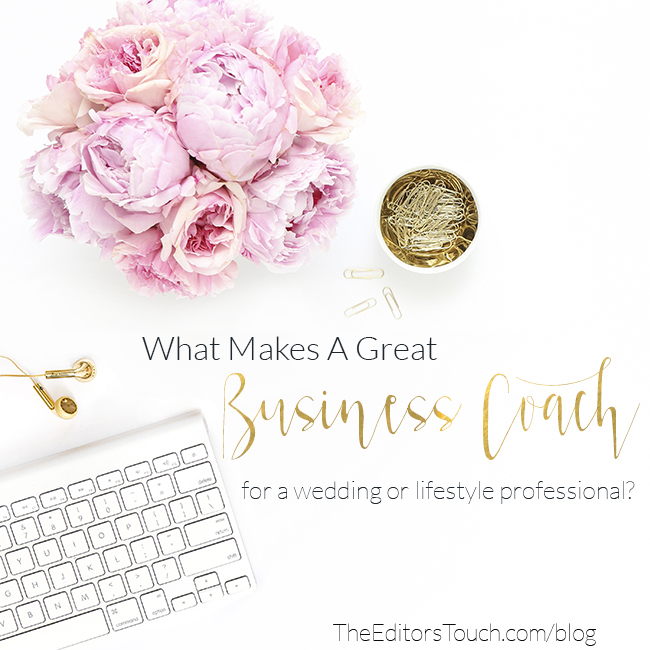 Business Coach for Wedding and Lifestyle Professionals | Heather Sharpe of The Editor's Touch