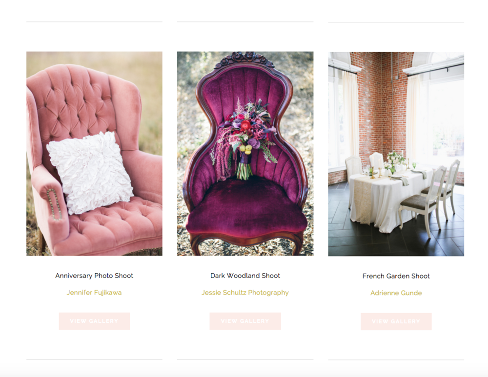 Party Pieces by Perry Website Design | The Editor's Touch