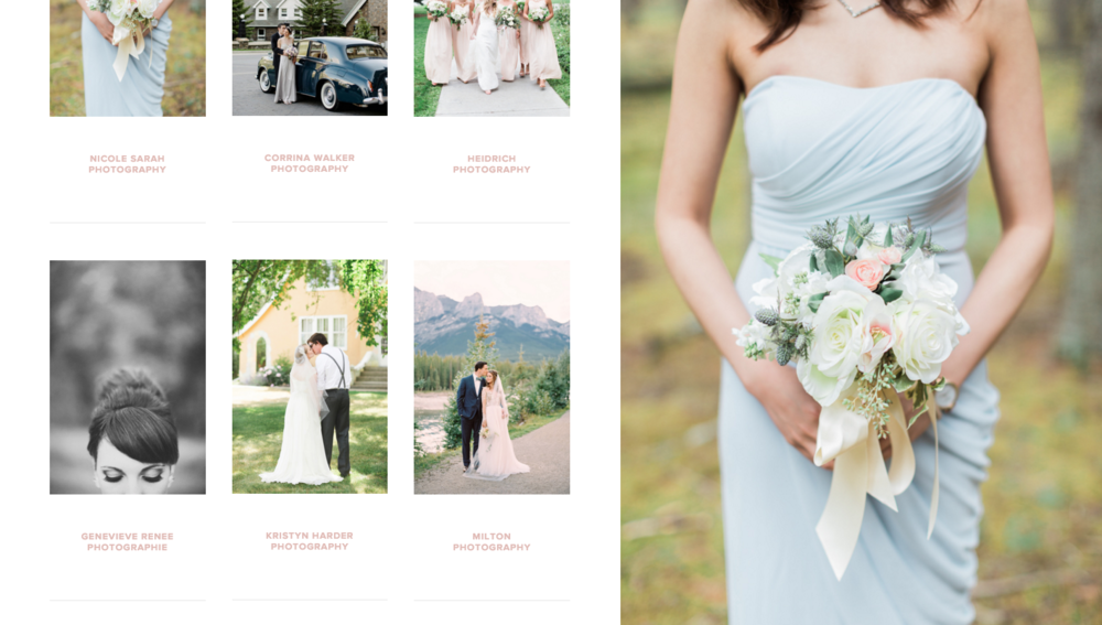 Best Wedding Vendors in Canada | Joy Wed Blog | Website Design by Heather Sharpe of The Editor's Touch