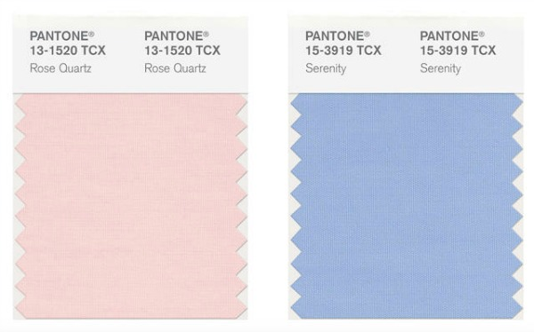 Pantone Colors of the Year for 2016
