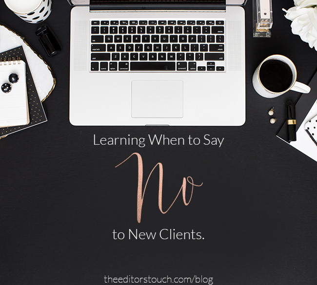 Know When to Say 'No' to Save Your Business from a Big Mess.