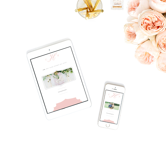 Eucalyptus Squarespace Template on iPad and iPhone | The Editor's Touch