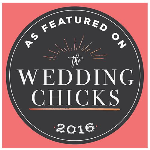 Featured on Wedding Chicks 2016