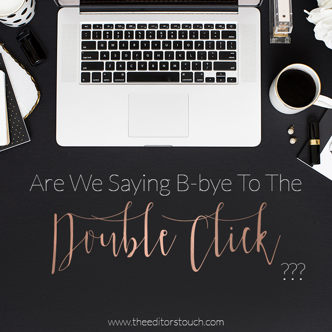 Social Media and Website Traffic | Do You Double Click? | The Editor's Touch